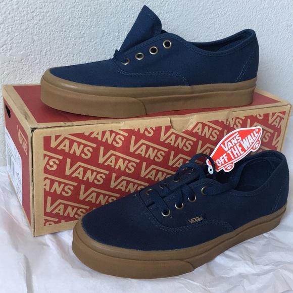 6a1e90767e vans authentic(light gum)dress blue